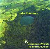 Chambers Wildlife Rainforest Lodges, Lake Eacham, Tropical North Queensland Australia.